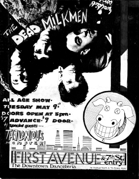 TheloniousMonster_DeadMilkmen_FirstAvenue1989_Ver2